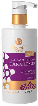 Passo 2 - Complexo de Queratina Queraplex 3D 500ml