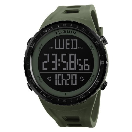 d4b91e044ce Relógio Masculino Tuguir Digital TG1246 Verde - ROMAPLAC