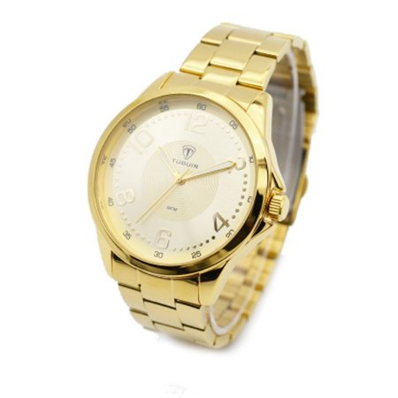 10bf888768d Relógio Masculino Tuguir Analógico 5020 Dourado - ROMAPLAC