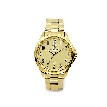 de7d11b3161 Relógio Masculino Tuguir Analógico 5026 Dourado - ROMAPLAC