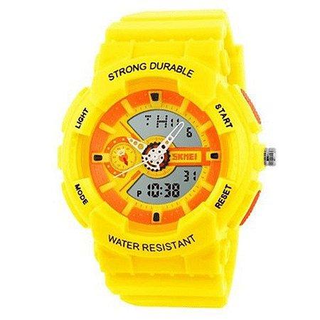 a24e398b0 Relógio Infantil Skmei Anadigi 1052 AM - ROMAPLAC