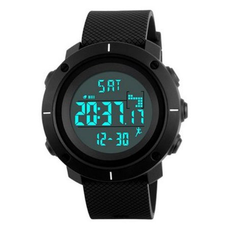 e4885796977 Relógio Masculino Skmei Digital 1215 - Preto Branco - ROMAPLAC