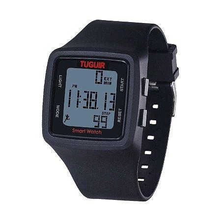086d737cb85 Relógio Unissex Pedômetro Tuguir Digital TG1606 Preto - ROMAPLAC
