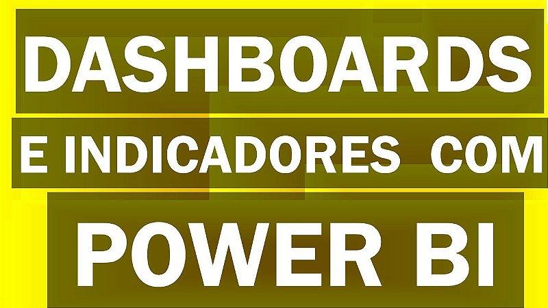 Treinamento de Dashboards e Indicadores no Excel