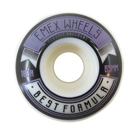 Rodas Emex 102A Best Formula 53mm