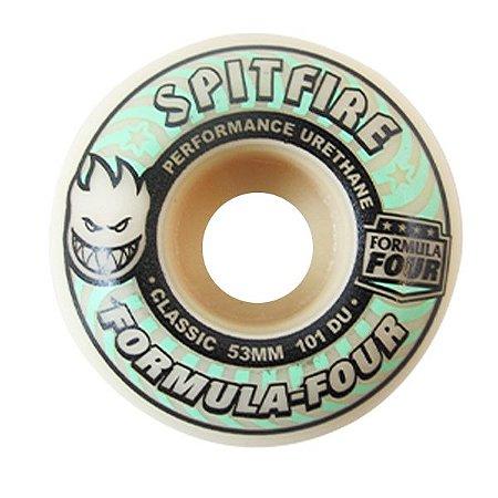 Roda Spitfire  F4 101 Lit Glo Classic  53mm