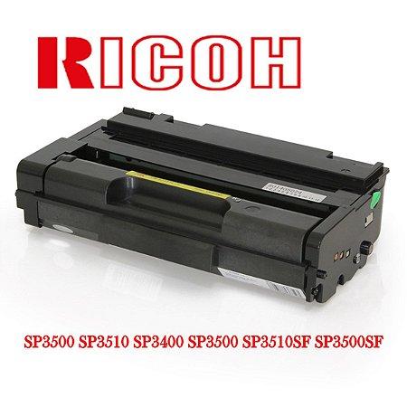 TONER COMPATÍVEL COM RICOH AFICIO SP3500 SP3510 SP3400 SP3500 SP3510SF SP3500SF 6.4K