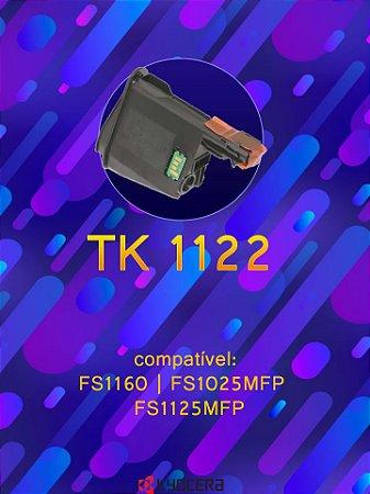 KYOCERA TK1122 TK-1122 | 1060DN FS1060 FS1025 FS1125 | COM CHIP