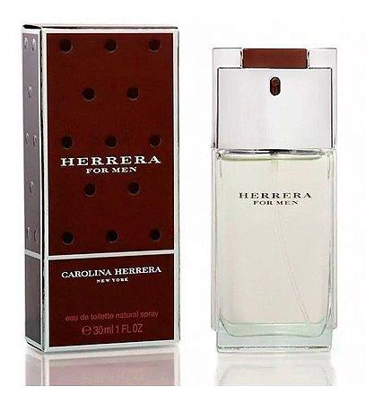 PERFUME CAROLINA HERRERA FOR MEN EAU DE TOILETTE NATURAL SPRAY 30 ML