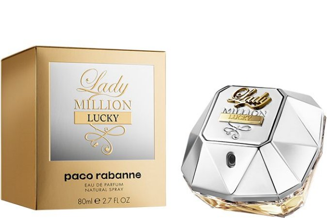 PERFUME PACO RABANNE LADY MILLION LUCKY FEMININO EAU DE PARFUM