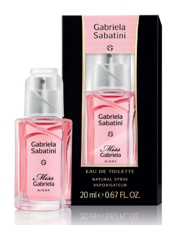 PERFUME GABRIELA SABATINI MISS GABRIELA NIGHT EAU DE TOILETTE 20 ML