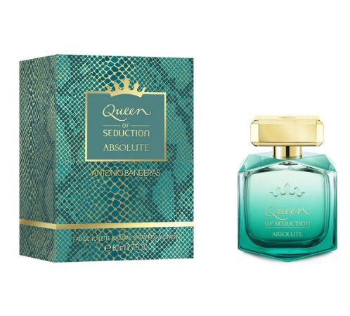 PERFUME ANTONIO BANDERAS QUEEN OF SEDUCTION ABSOLUTE EAU DE TOILETTE FEMININO