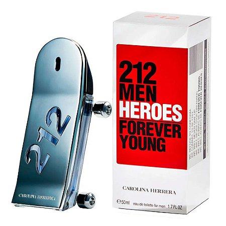 PERFUME CAROLINA HERRERA 212 HEROES FOREVER YOUNG MASCULINO EAU DE TOILETTE