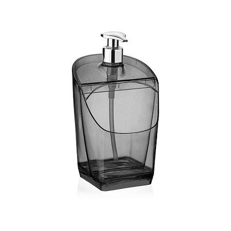 Porta Detergente Preto Translucido de Plastico UZ