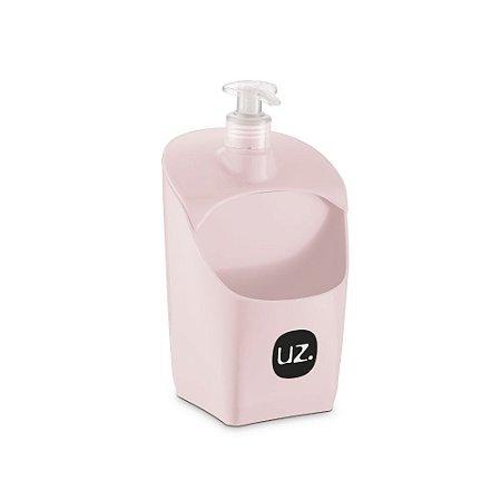 Porta Detergente Rosa Solido