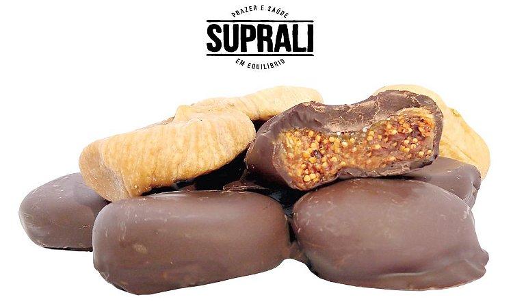 Figo turco banhado em chocolate 70% cacau (200g)