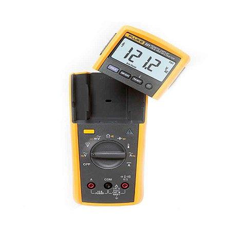 Multímetro Digital Industrial True-RMS com Display Removível