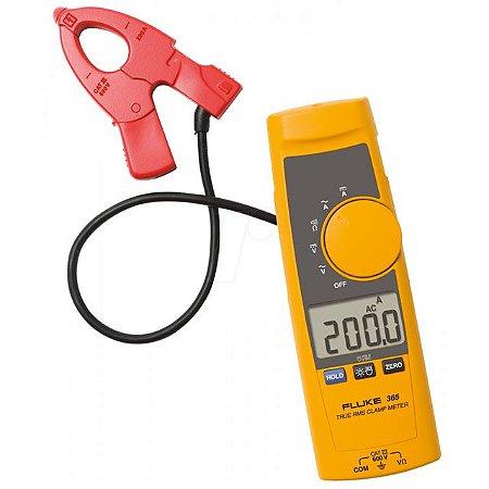 Alicate Amperimetro Ac/Dc 200a Com Pinça Destacável - FLUKE-365