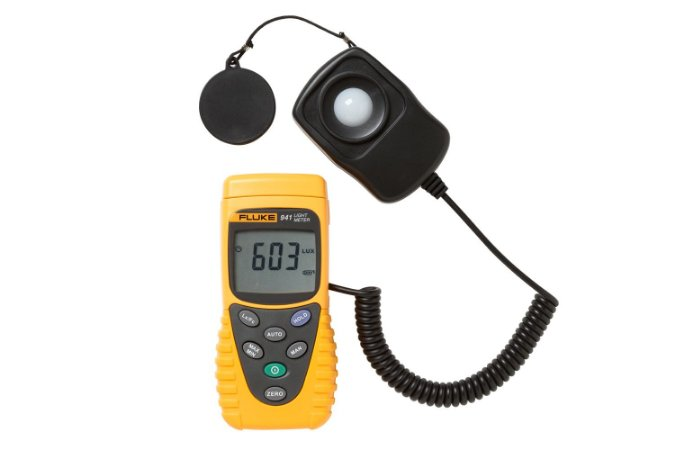 Medidor de luz Fluke 941