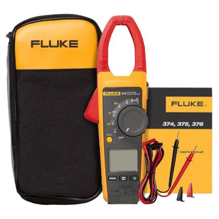 Alicate Amperímetro True-RMS CA/CC Fluke 375 FC