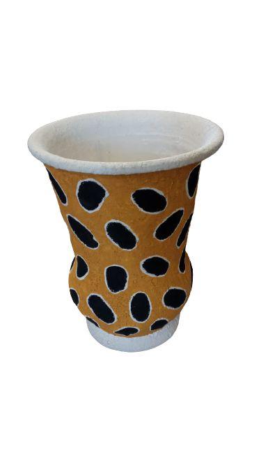 Vaso Cerâmica Pintada