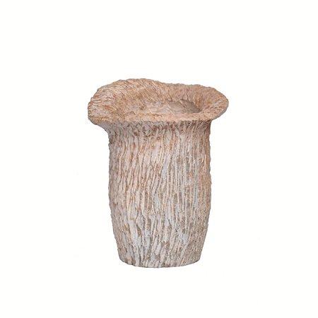 Vaso Pedra Rústica Esculpida