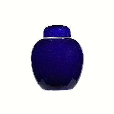 Pote Cerâmica Azul Big
