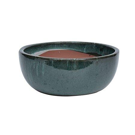 Vaso Ceramica Verde M