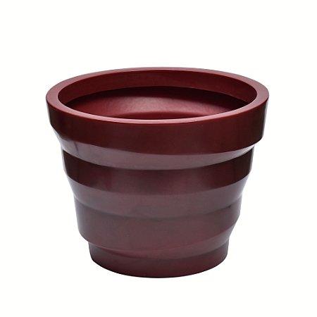 Vaso de fibra dunas antique vermelho