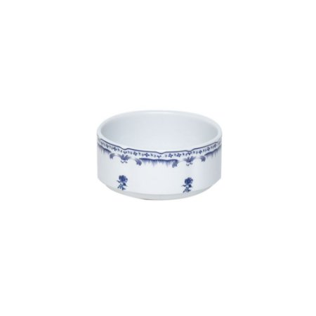 Bowl Cerâmico Azul e Branco