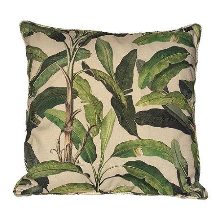 Almofada Folha Bananeira Verde