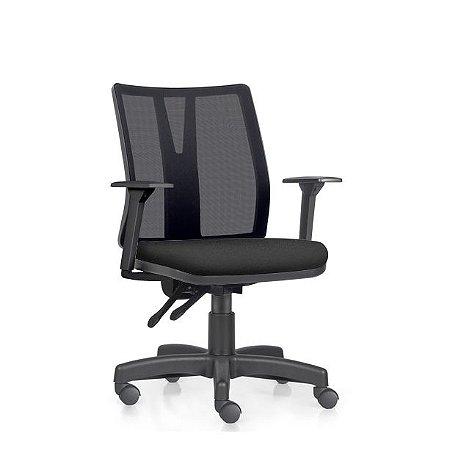 Cadeira Ergonômica Frisokar Addit Diretor, Base Metálica, Rodinha em Nylon e Pistão Classe 3