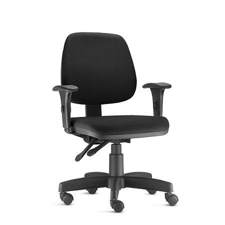 Cadeira Ergonômica Frisokar JOB Operativa Base Metálica Rodinha em Nylon e Pistão Classe 3
