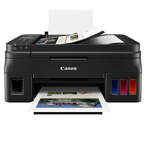 Impressora Multifuncional Canon Mega Tank G4111 Tanque de Tinta Colorida Sem Fio