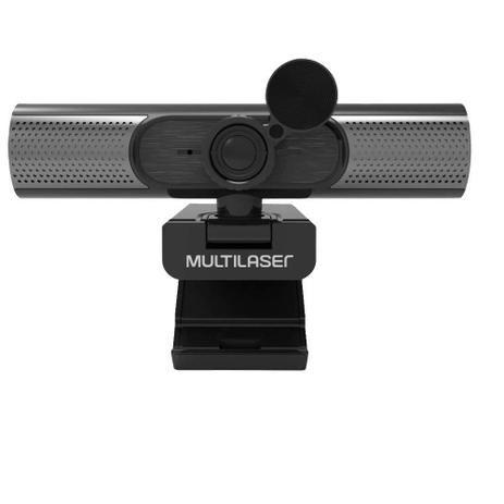 Webcam  Multilaser Ultra HD 2K
