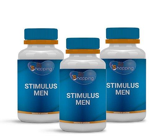 2 Stimullus Men (60 cápsulas cada) e ganhe 1 - BioShopping