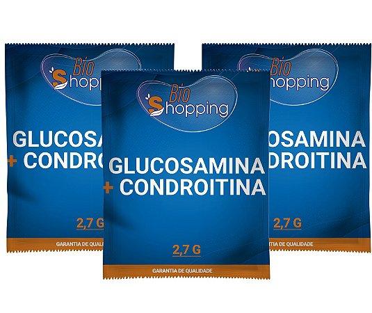 2 Glucosamina 1,5g + Condroitina 1,2g (30 sachês cada) e ganhe 1 - Bioshopping