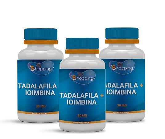 2 Tadalafila 20mg + Ioimbina 10mg (60 cápsulas) e ganhe 1 - BioShopping