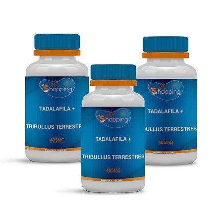 2 Tadalafila 5mg + Tribullus Terrestres 400mg (60 cápsulas cada) e ganhe 1 - Bioshopping