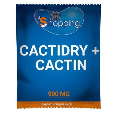 CactiDry com Cactin 30 cápsulas - Bioshopping