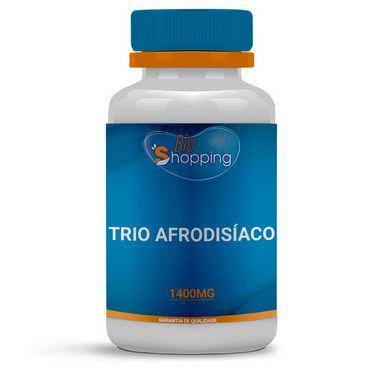Trio Afrodisíaco - Epimedium, Mucuna e Tribulus 30 Doses