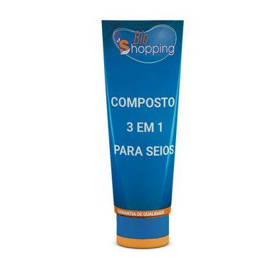 Composto 3 em 1 para Seios - Bioshopping
