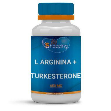 L Arginina 150mg + Turkesterone 500mg - BioShopping