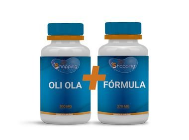 Kit Oli Ola 300 mg (30 cápsulas) + Oli Ola + Nutricolin + Vitamina C (30 cápsulas) - Bioshopping