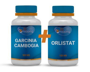 KIT 1 Pote de Orlistat + 1 Pote de Garcinia Camboga - Bioshopping