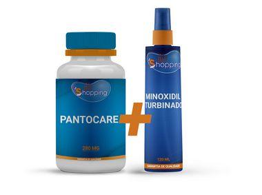 KIT Minoxidil Turbinado + Pantocare - Bioshopping