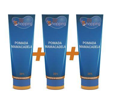 KIT 3 Pomadas de Mamacadela 50g - Bioshopping