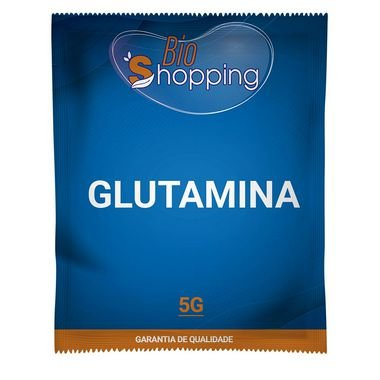 Glutamina 5g - Bioshopping