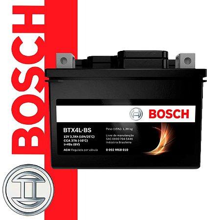 Bateria de Moto BOSCH - BTX4L-BS