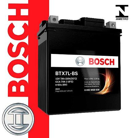 Bateria de Moto BOSCH - BTX7L-BS